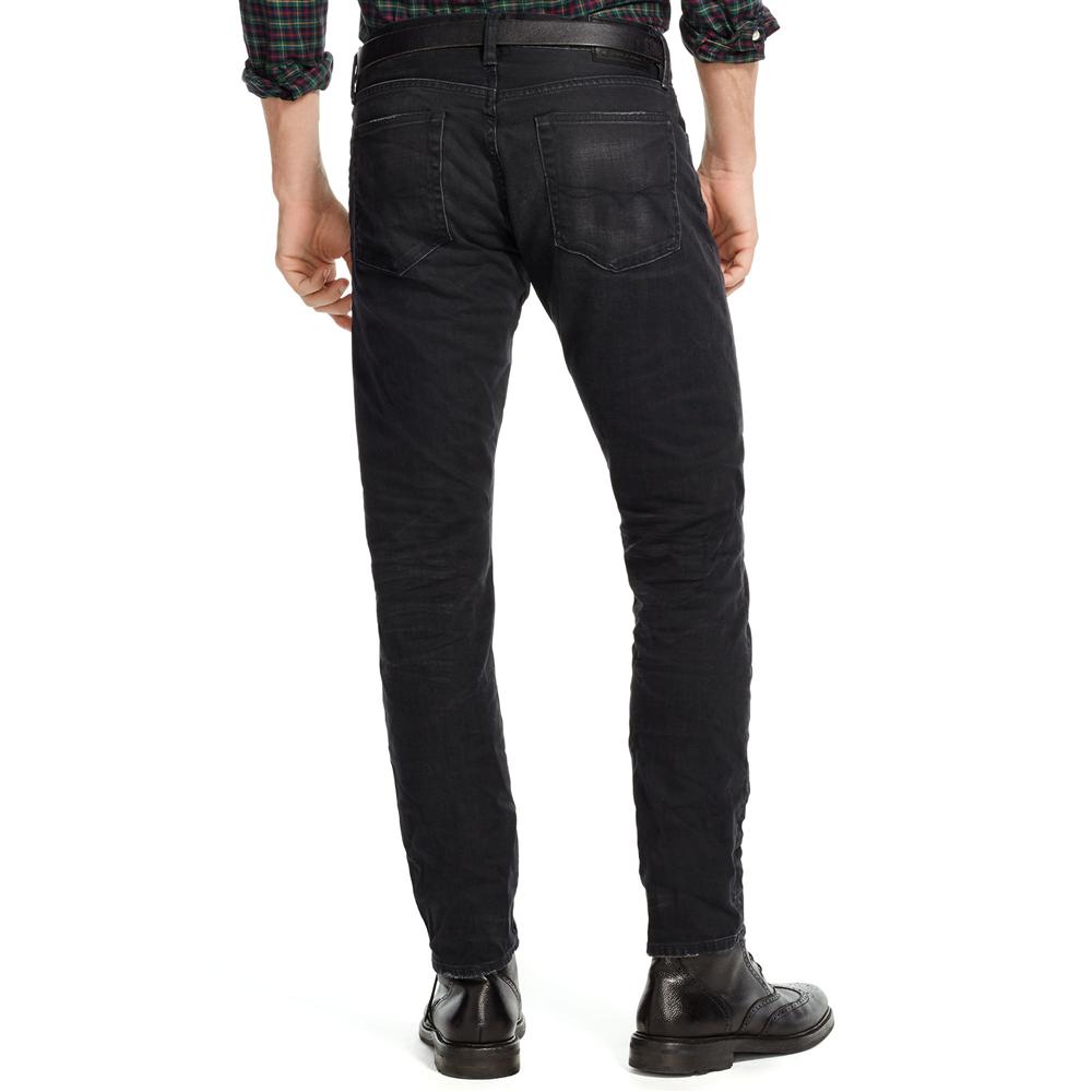 Quần jeans nam Ralph Lauren mầu đen chì