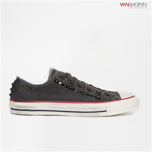 Giầy thể thao nam Converse Washed Ox mầu ghi