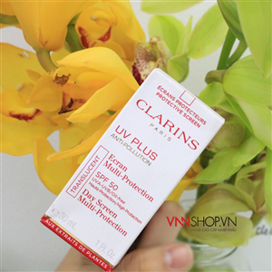 Kem chống nắng Clarins UV Plus Anti Pollution SPF 50, 30ml